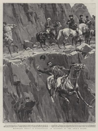 Mountain Perils in Afghanistan, an Accident to the Amir's Guard-Frank Dadd-Giclee Print