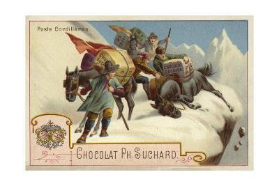 Mountain Postal Service--Giclee Print