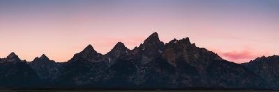 Mountain Range in Grand Teton, Wyoming-Patrick Brandenburg-Photographic Print