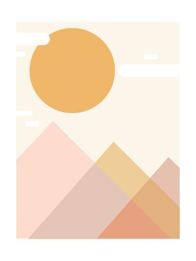 Mountain Range-Kindred Sol Collective-Art Print