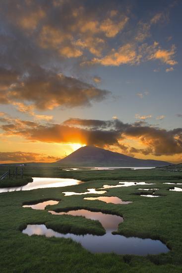 Mountain Rays II-Michael Blanchette Photography-Photographic Print