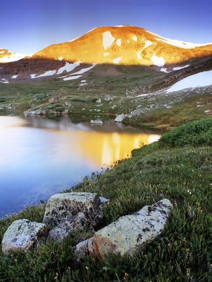 Mountain Reflection Near Mosquito Pass, Colorado-Keith Ladzinski-Photographic Print