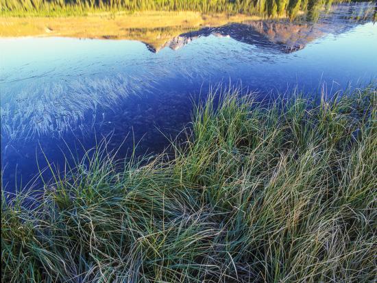 Mountain Reflection, San Juan Mountains, Colorado-Keith Ladzinski-Photographic Print