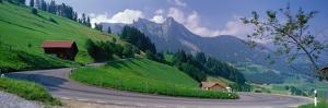 Mountain Road Jaunpass Switzerland