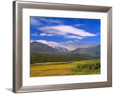Mountain Scenery Mountains of Rondane National--Framed Photographic Print