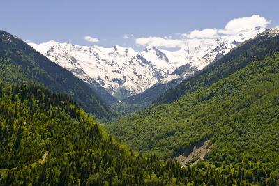 Mountain Scenery of Svanetia, Georgia-Michael Runkel-Photographic Print