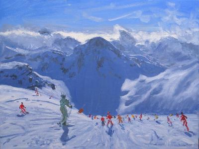 Mountain Shadow, 2009-Andrew Macara-Giclee Print