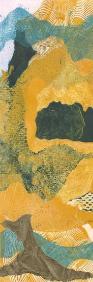 Mountain Shapes I-Carolyn Roth-Art Print