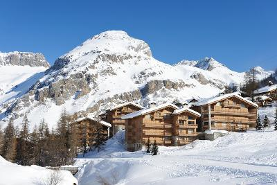 Mountain Ski Resort with Snow in Winter, Val-D'isere, Alps, France-haveseen-Photographic Print