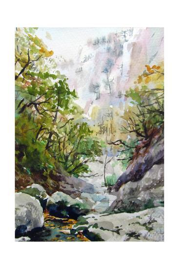 Mountain Stream-Igor-Art Print