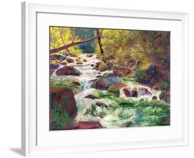 Mountain Stream-Carol Bailey-Framed Art Print