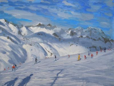 Mountain Tops, Tignes, 2009-Andrew Macara-Giclee Print