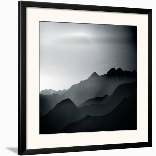 Mountain Tops-Jurek Nems-Framed Giclee Print
