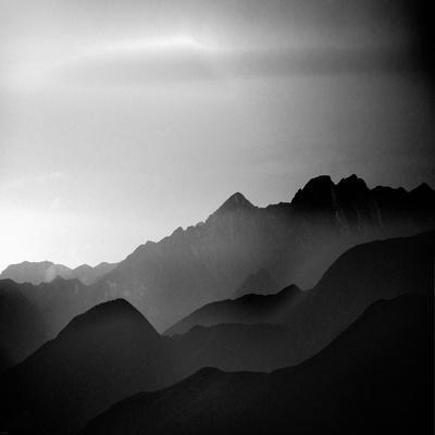 Mountain Tops-Jurek Nems-Framed Premium Giclee Print