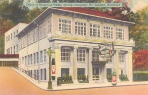 Mountain Valley Spring Company, Hot Springs, Arkansas