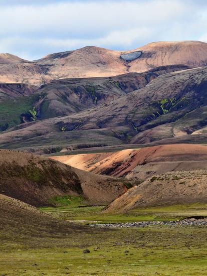 Mountain Vista, Iceland-Adam Jones-Photographic Print