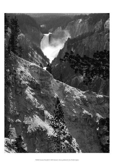 Mountain Waterfall I-Edward C^ Morris-Art Print