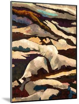 Mountain-Hyunah Kim-Mounted Art Print