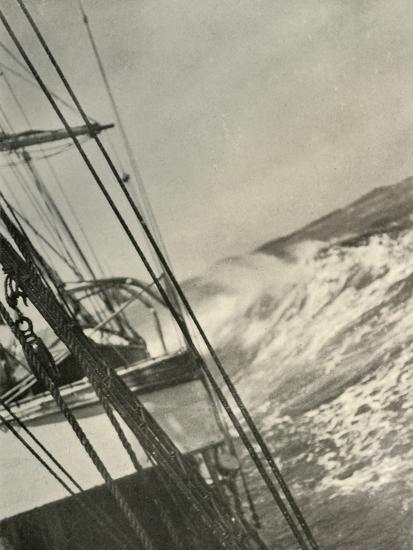 'Mountainous Seas', c1908, (1909)-Unknown-Photographic Print