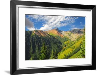 Mountains in Colorado-Dakota-Framed Photographic Print