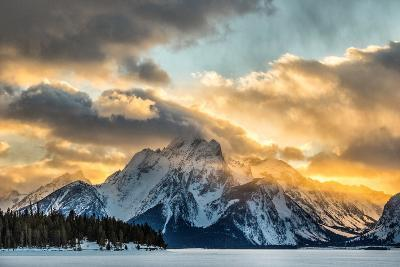 Mountains in Grand Teton National Park-Charlie James-Photographic Print