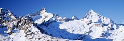 Mountains Nr Matterhorn Canton Valais Switzerland--Photographic Print