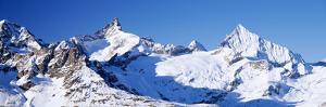 Mountains Nr Matterhorn Canton Valais Switzerland
