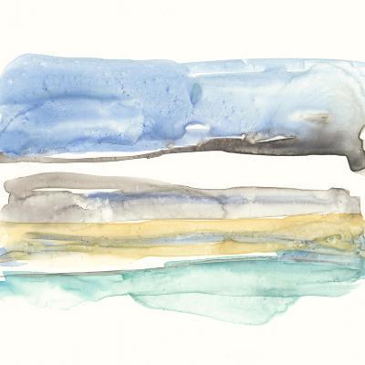 Mountains to Sea V-Jennifer Goldberger-Premium Giclee Print