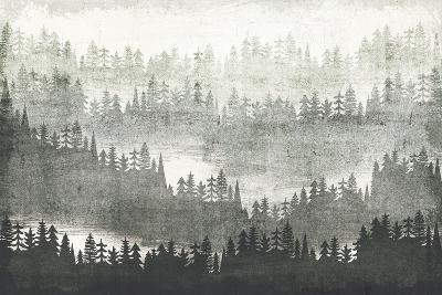 Mountainscape Silver-Michael Mullan-Art Print