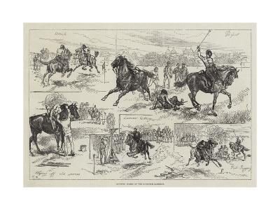 Mounted Sports of the Woolwich Garrison-Charles Robinson-Giclee Print