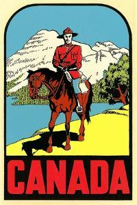 Mountie Decal