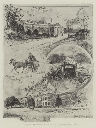 Mountstewart, Lord Londonderry's House, Where Mr Balfour Stayed When He Visited Belfast-Joseph Holland Tringham-Giclee Print