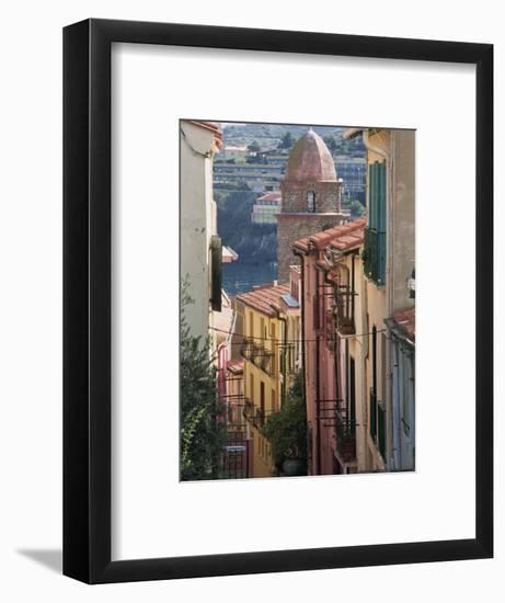 Moure Place, Old Town, Collioure, Roussillon, Cote Vermeille, France, Europe-Thouvenin Guy-Framed Photographic Print