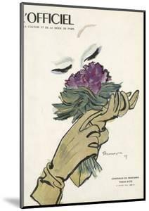 L'Officiel - Chapeaux de Printemps, Tissus d'Été by Mourgue