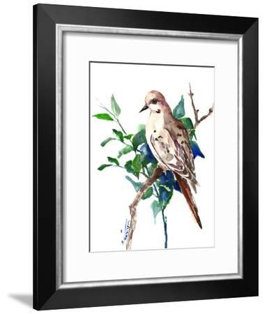 Mourning Dove 3-Suren Nersisyan-Framed Art Print
