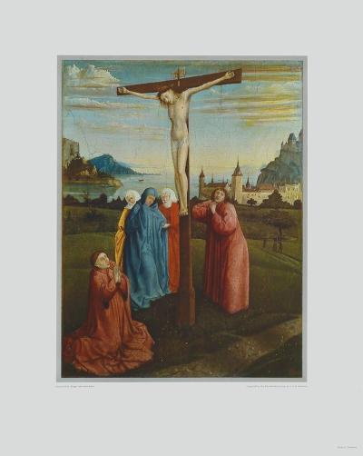 Mourning under the Cross-Konrad Witz-Collectable Print