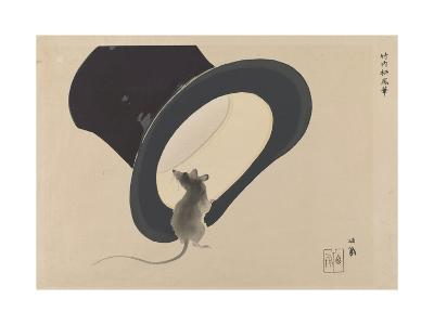 Mouse and Hat--Giclee Print
