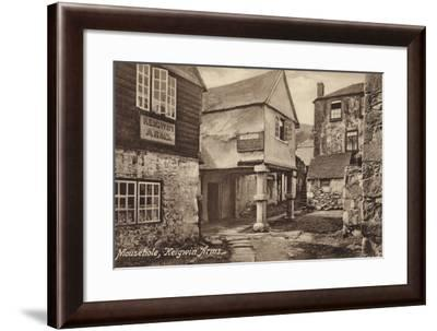 Mousehole, Keigwin Arms--Framed Photographic Print