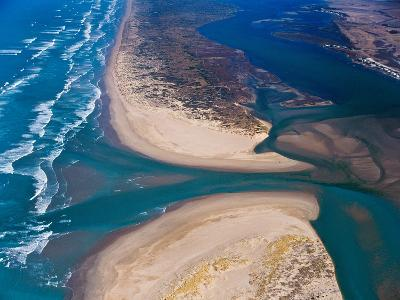 Mouth of Murray River, South Australia-Bill Bachman-Photographic Print