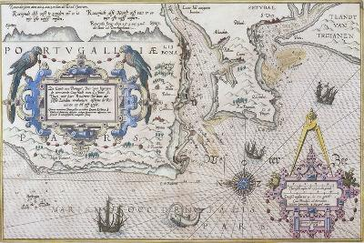 Mouth of Tagus River and Lisbon--Giclee Print