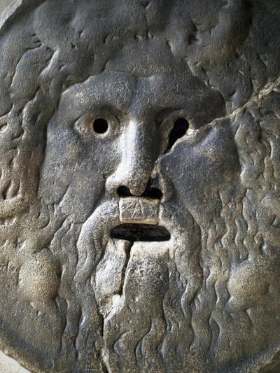 Mouth of Truth Depicting River God, Basilica of Saint Mary in Cosmedin, Rome, Italy--Giclee Print