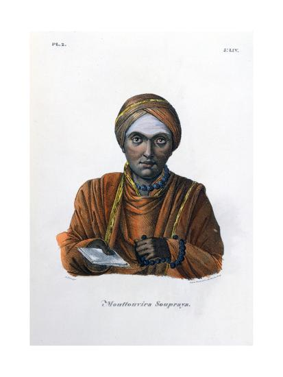 Mouttouvira Soupraya, 1828- Marlet et Cie-Giclee Print