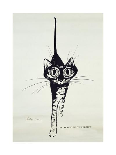 Move Quietly, C.1962-George Adamson-Giclee Print