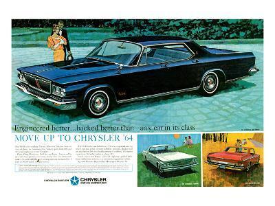 Move Up to Chrysler 1964--Art Print