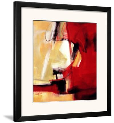 Movement in Red-Eva Carter-Framed Art Print