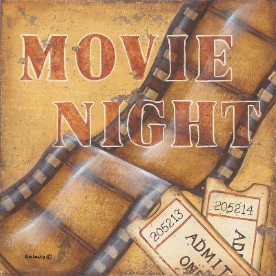 Movie Night-Kim Lewis-Art Print