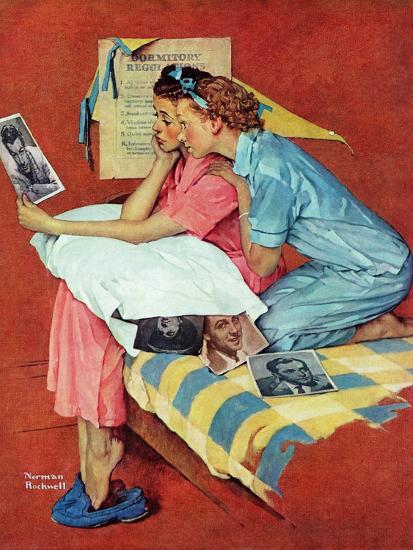 """Movie Star"", February 19,1938-Norman Rockwell-Giclee Print"