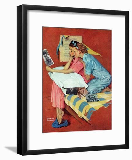 """Movie Star"", February 19,1938-Norman Rockwell-Framed Giclee Print"