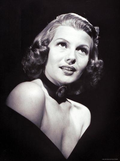 Movie Star Rita Hayworth, the Love Goddess of the Cinema-John Florea-Premium Photographic Print