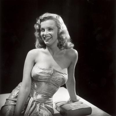 Movie Starlet Marilyn Monroe Posing in Studio-J^ R^ Eyerman-Premium Photographic Print